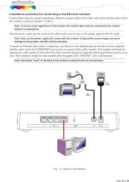 wiring diagram for modem satellite wiring diagram firewall