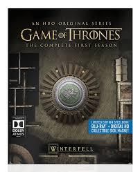 amazon com game of thrones season 1 steelbook blu ray