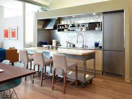space for kitchen island small kitchen islands pictures options tips ideas hgtv with