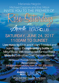 puerto rico luxury invites you to the premier of our summer event