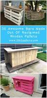 Seating Out Of Pallets by Wooden Pallet Bars 35 Awesome Ideas For Inspiration