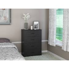 Kullen Nightstand by 4 Drawer Black Dresser Bestdressers 2017