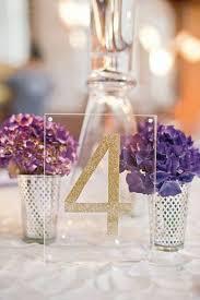 acrylic table numbers wedding 75 ways to display your wedding table numbers table numbers
