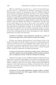 how to write an acknowledgement for a thesis 9 conclusions and recommendations mathematics learning in early page 340