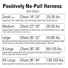 american pitbull terrier size chart positively no pull harness shop the victoria stilwell positively
