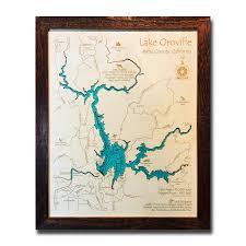 Opal Creek Oregon Map Tahoe Wood Maps 3d Wood Maps Vintage Signs Unique Home Decor
