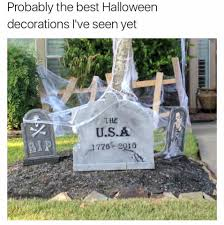 tombstone halloween decorations rip usa 1776 2016 tombstone