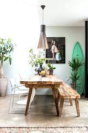 table et banc de cuisine banc de cuisine en bois table et banc cuisine cuisine style bohame