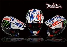 motocross helmet painting win a custom painted arai package worth 1000 motohead