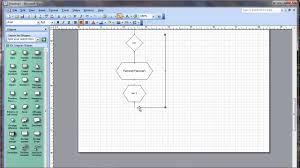 membuat flowchart di visio 2010 trutorial pembuatan flowchart faktorial dengan menggunakan