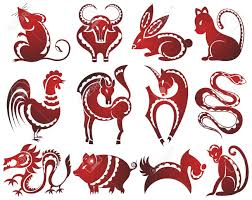 12 chinese zodiac signs royalty free cliparts vectors and stock