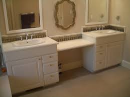 great floating bathroom vanity with grey cabinet with drawers