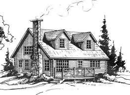 log cabin drawings cabin kit construction ebay