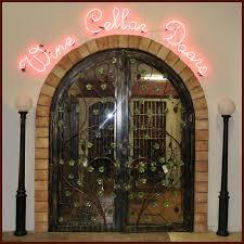 wine cellar doors artistic iron works ornamental wrought iron
