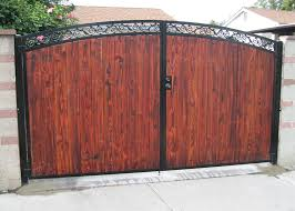 marquez iron works gallery ornamental iron and wooden driveway gates