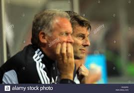 michael curtis pictured l r alan curtis with swansea manager michael laudrup