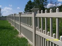 keywest variation vinyl ornamental fence
