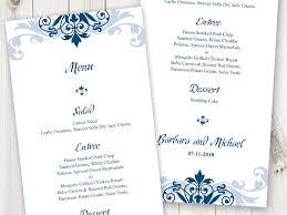 winter wonderland table numbers blue wedding shishko templates