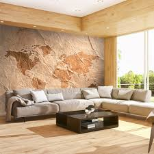 Schlafzimmer Mit Holz Tapete Uncategorized Vlies Fototapete Weltkarte Tapete Tapeten