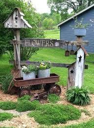 Fall Garden Decorating Ideas Backyard Decor Idea Outdoor And Decorating Ideas Country Living