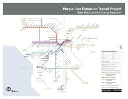 Subway Map Los Angeles by Long Wait Over Groundbreaking Held For Wilshire Boulevard Subway