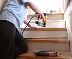 easy and budget friendly fix for the basement stairs i am
