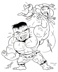hulk coloring pages coloring for kids coloriage hulk 6