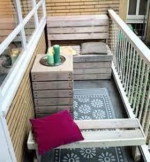 balkon bank balkoninrichting voor een smal balkon 1 meter breed op maat