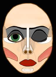 generalized frank n furter makeup template this will come in
