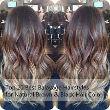 2015 hair styles and colour top 20 best balayage hairstyles for natural brown black hair color