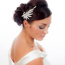 bridal hair accessories uk sparkling vintage style bridal hair clip
