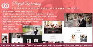 wedding planner websites wedding wedding planner by thememascot themeforest