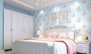 Calming Bedrooms by Beautiful Floral Wallpaper Designs For Captivating Bedrooms Light