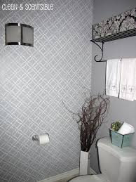 bathroom stencil ideas stencil ideas for bathroom walls walls ideas