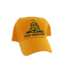 Gadson Flag Gadsden Flag Hat Yellow Dont Tread On Me