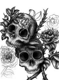 gallery for skulls with roses skull s graphics
