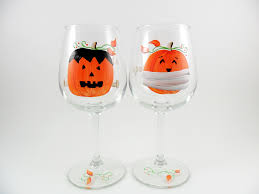 halloween wine glasses the world u0027s most recently posted photos of handpainted and