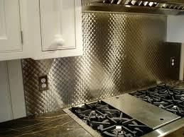 steel backsplash tiles kitchen behind stove stainless steel behind