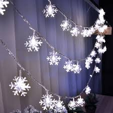 Winter Party Decor - happy new year winter party decoration white snowflake string