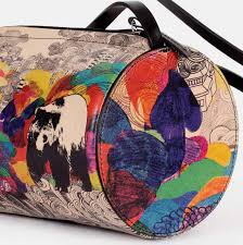 colours of my life handmade printed leather bags