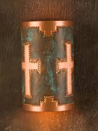 Southwestern Sconces Punched Metal Wall Sconces The Southwest Store