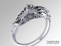 3 engagement ring diablo 3 and barbarian wedding ring set takayas
