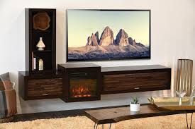 Entertainment Centers With Bookshelves Wall Mounted Floating Tv Stands Woodwaves