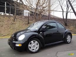 black volkswagen beetle black 1999 volkswagen new beetle gls coupe exterior photo