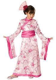 geisha costume spirit halloween child asian princess costume