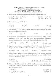 jam exam pattern 2016 utkal university msc physics entrance exam question paper 2018
