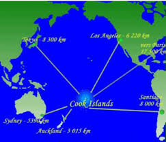 where is cook islands located on the world map the cook islands a affair