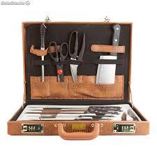 mallette cuisine mallette couteaux de cuisine 13 pièces