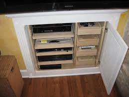 Entertainment Storage Cabinets Custom Cabinetry
