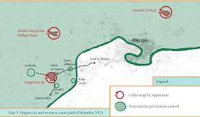 Maps Timeline Aleppo Conflict Timeline 2012 The Aleppo Project